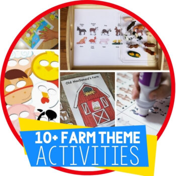 Farm Theme Free Printables for Learning Featured Image