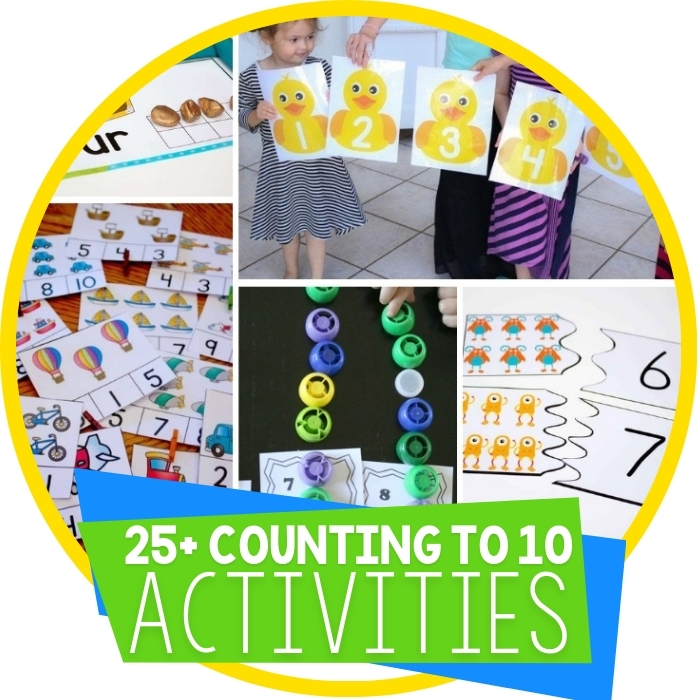 Free Counting To 10 Printables for Learning