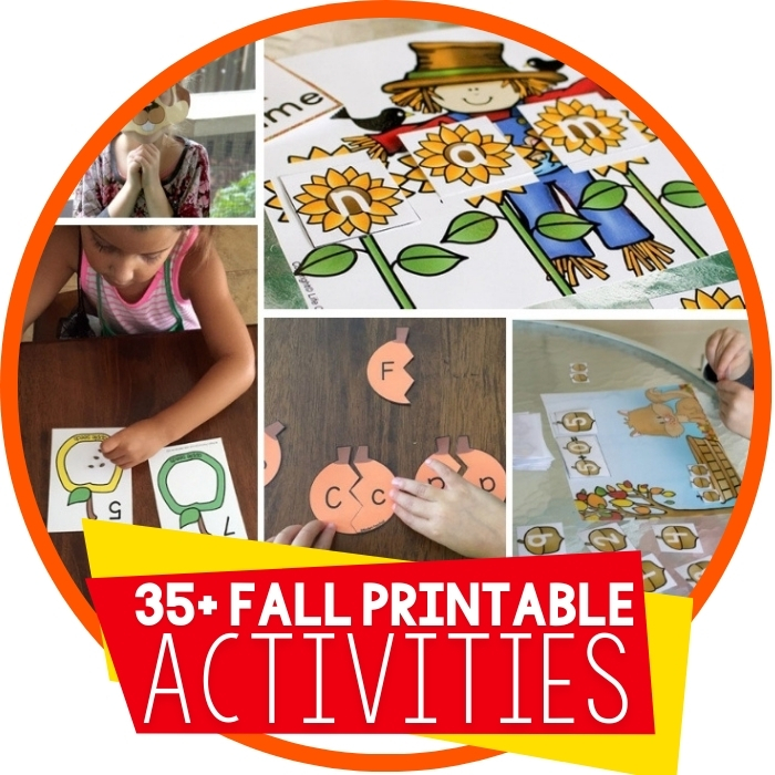 Free Fall Printables for Learning