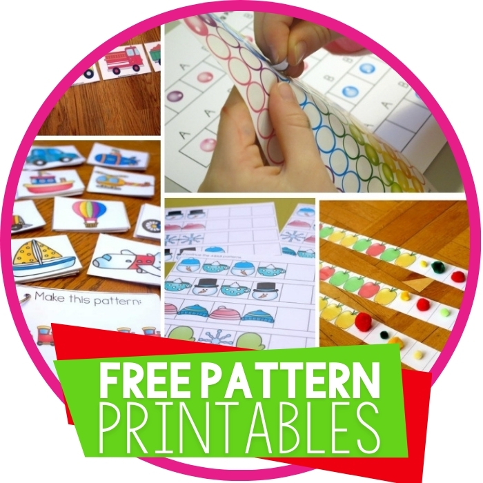Free Pattern Printables for Learning