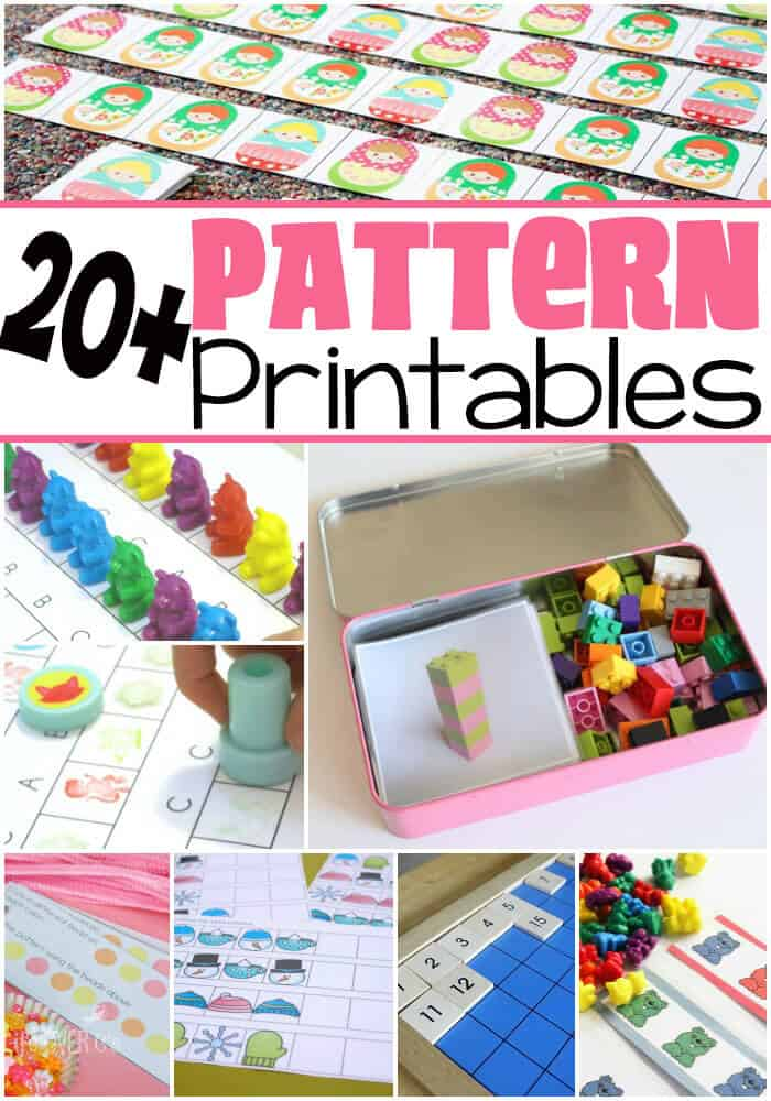 20+ Free Pattern Printables for Learning