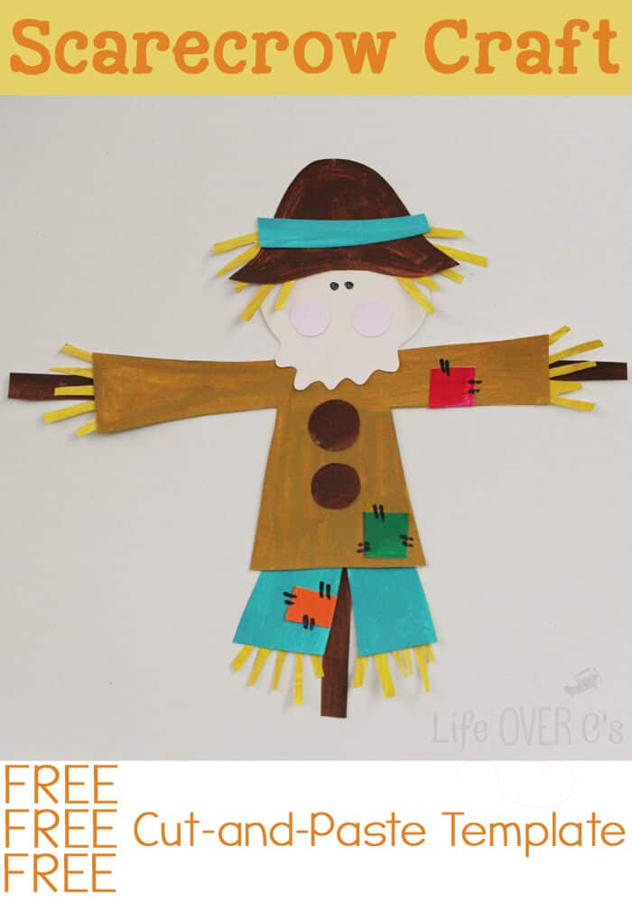Free Printable Scarecrow Crafts For Kids