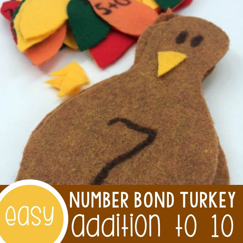 Addition to 10 Number Bond Turkey!