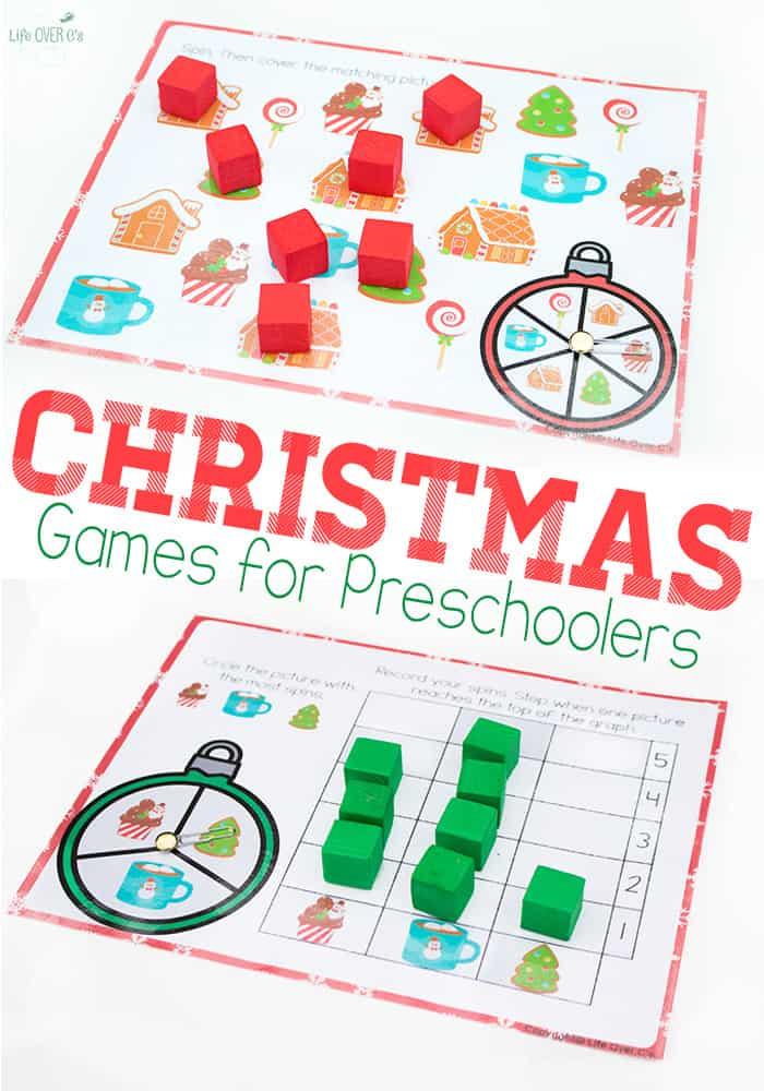 Free Printable Christmas Games - Life Over Cs