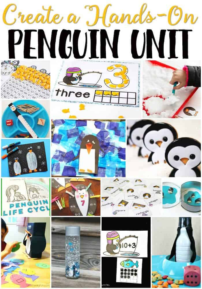 Free penguin theme printables for learning life over cs for Winter themed gross motor activities