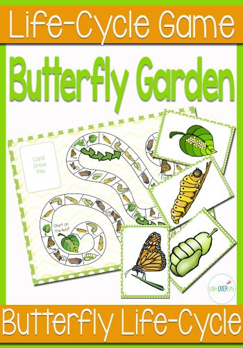 This butterfly life cycle game is a great way for young learners to learn about the stages of a butterfly.