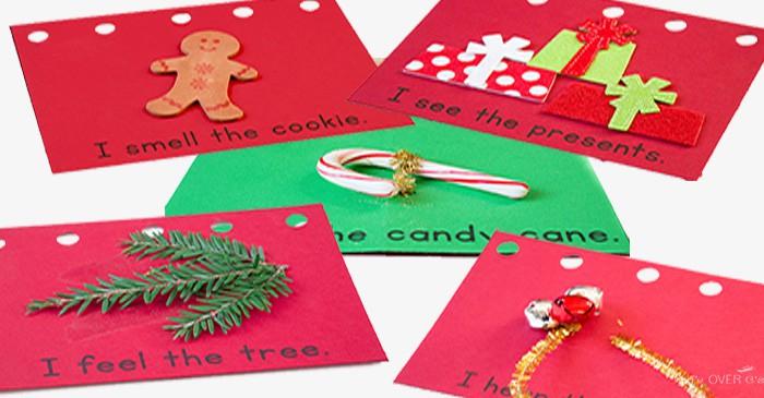 My Christmas Five Senses Book: Free Printable - Life Over Cs