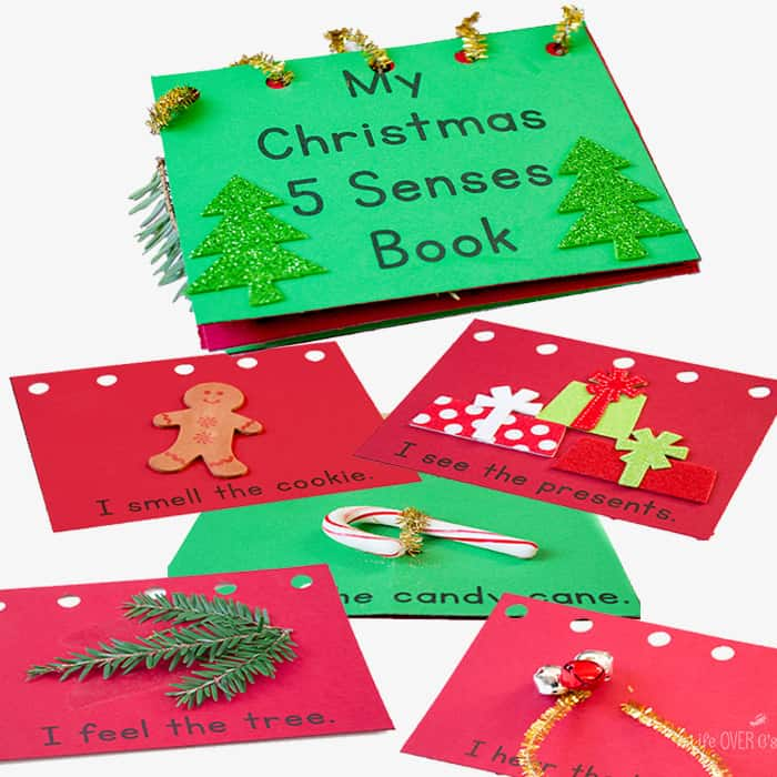 graphic relating to Printable Christmas Activities called My Xmas 5 Senses E-book: Cost-free Printable - Lifestyle About Cs