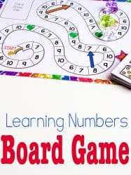 Free Printable Counting Game: Numbers 6-10