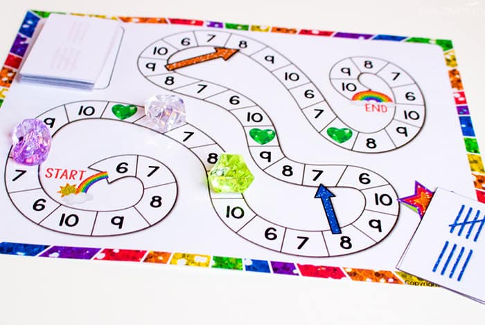 Free Printable Counting Game: Numbers 6-10 - Life Over Cs
