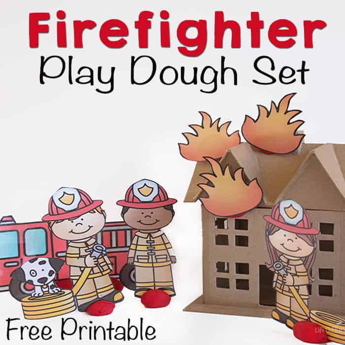 Fire Fighter Play Dough Set