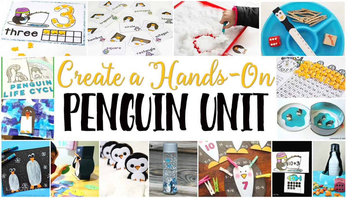 Free Penguin Theme Printables For Learning