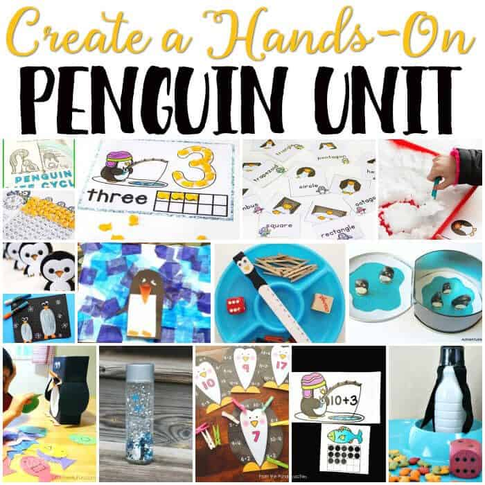 Free Penguin Theme Printables for Learning - Life Over Cs