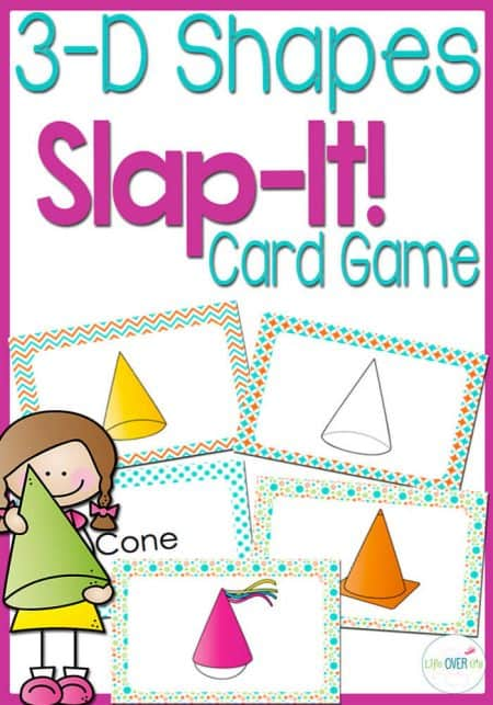 """Students will learn all about 3D Solid Shapes through a fast-paced, fun game! This game reinforces student knowledge of solid shapes through representations, """"real life"""" pictures, definitions and names."""