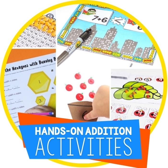 Addition Printables for Learning Featured Image