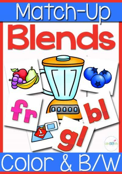 This beginning blends sound match up activity is so cute! The blender is just perfect!!