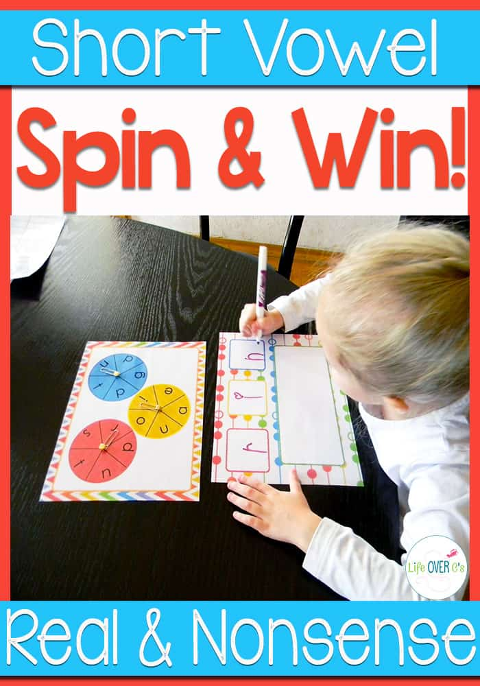CVC Real and Nonsense Words Game