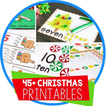 Christmas Printables for Learning Featured Image