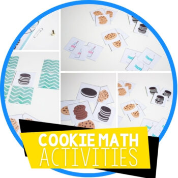 Cookie Games Math for Preschoolers Featured Image