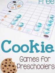 Cookie Games: Math for Preschoolers