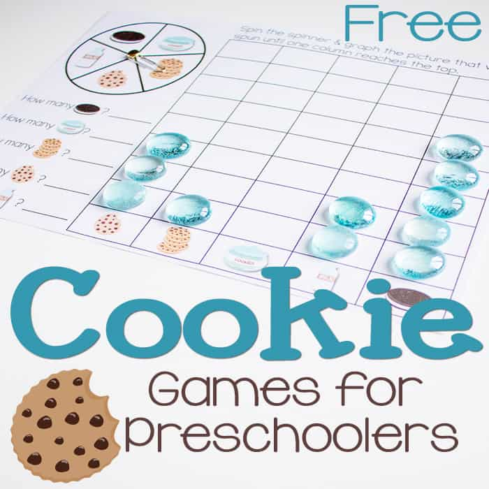 Cookie Games: Math for Preschoolers