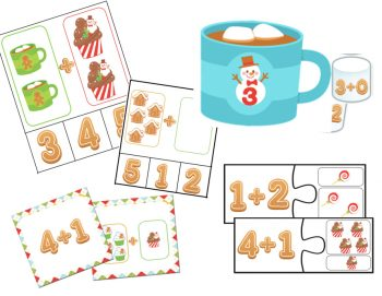 Learning about addition is fun with these addition to 5 math centers and games. Bump!, matching, puzzles, clip cards and more!