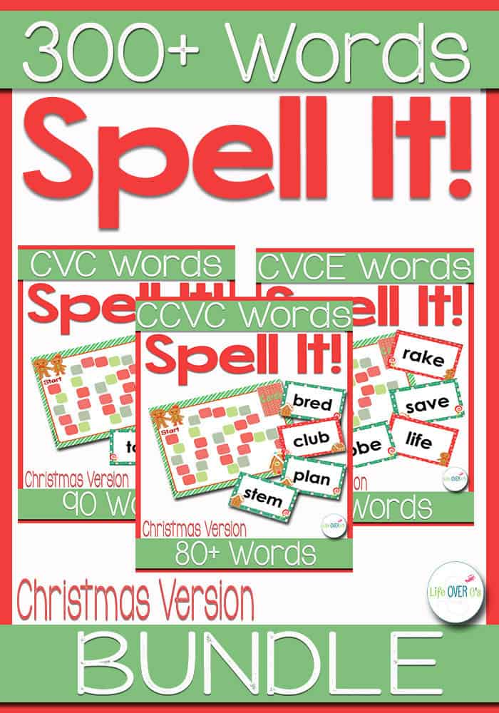 Kids will have so much fun spelling with these fun word family file folder games! Hundreds of CVC, CVCe, CCVC words for lots of learning opportunities.