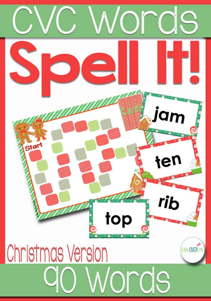 Kids will love practicing CVC Words with this fun CVC Word Family file folder game. With 90 CVC words, it will be a new game every time they play!