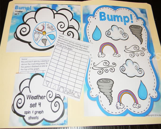 weather bump set 4
