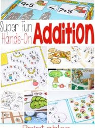 Addition Printables for Learning