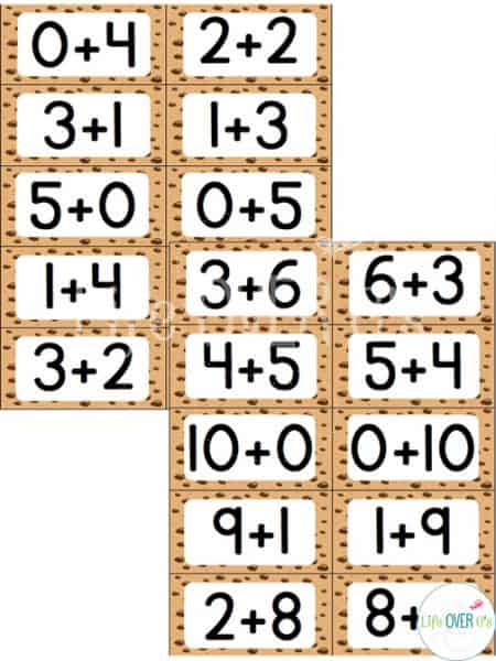 """This Addition Fact Family """"Slap-Jack"""" styled game is a fun way to practice addition facts! Your students will love this!"""