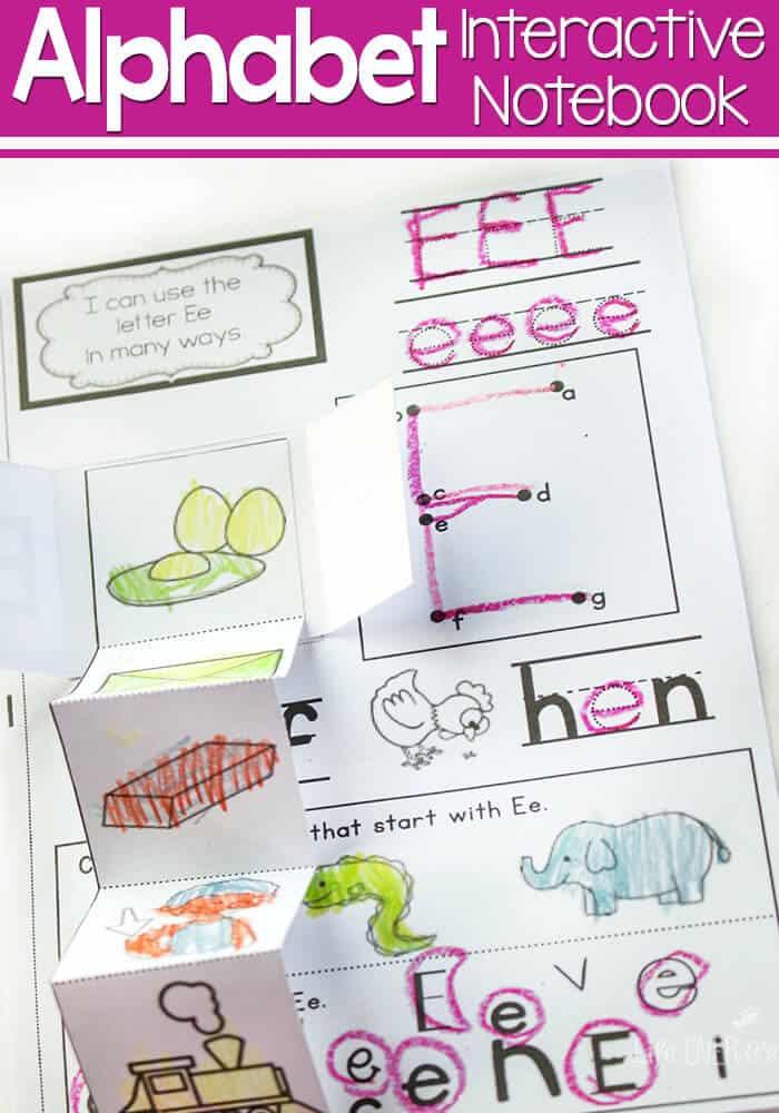 alphabet preschool printable