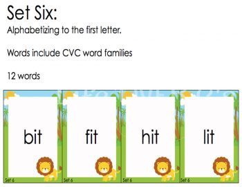 """Practice alphabetical order with your students as they play this fun alphabetical order """"war"""" card game! Such a fun way to learn!"""