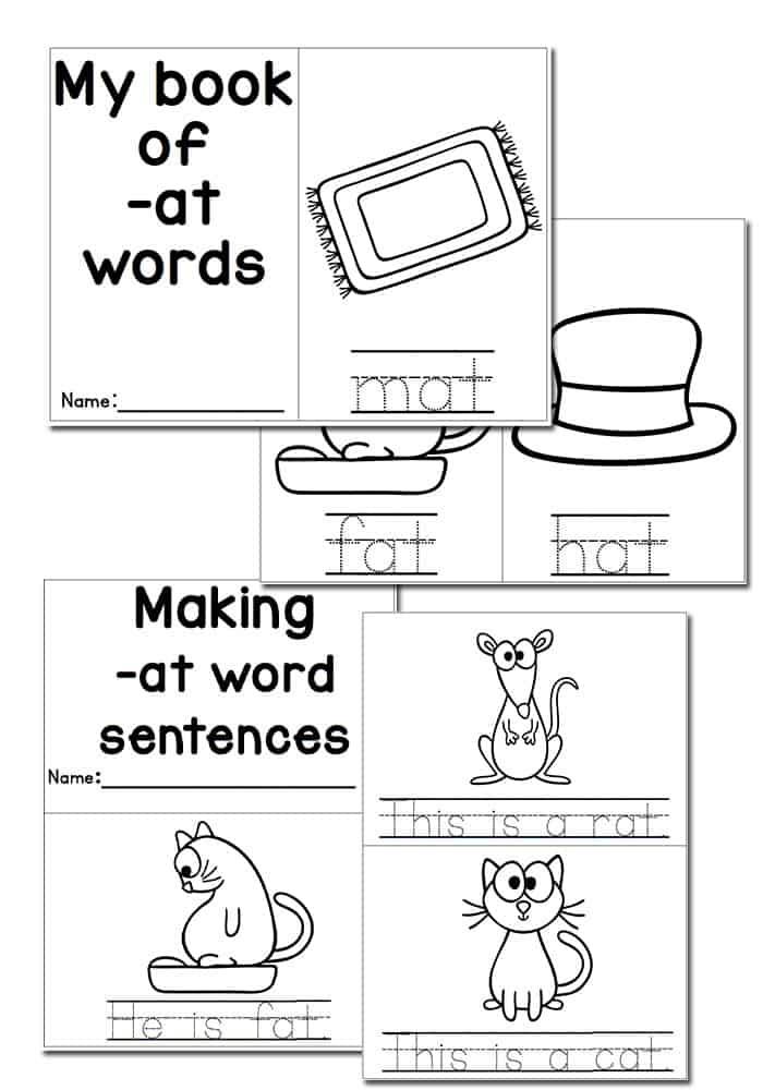 cvc word family activities
