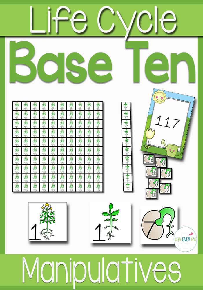 base ten plant manipulatives