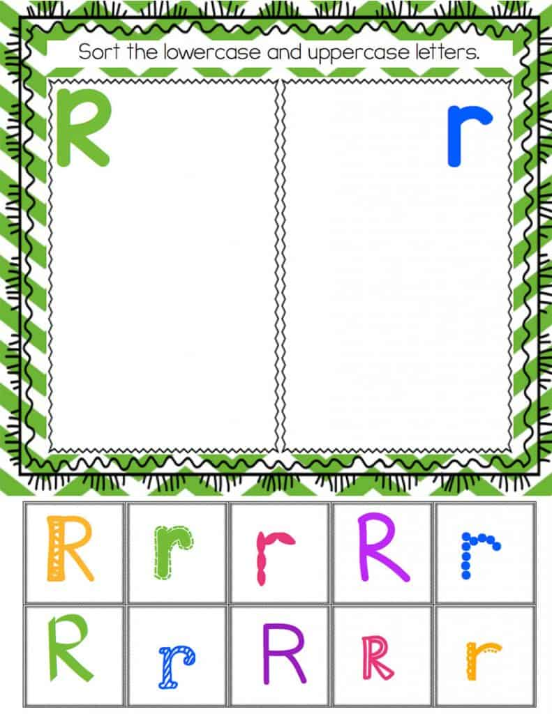 These alphabet uppercase/lowercase sorts are perfect for kids who are learning their letters! Lots of fonts will help new readers recognize the alphabet while they sort.