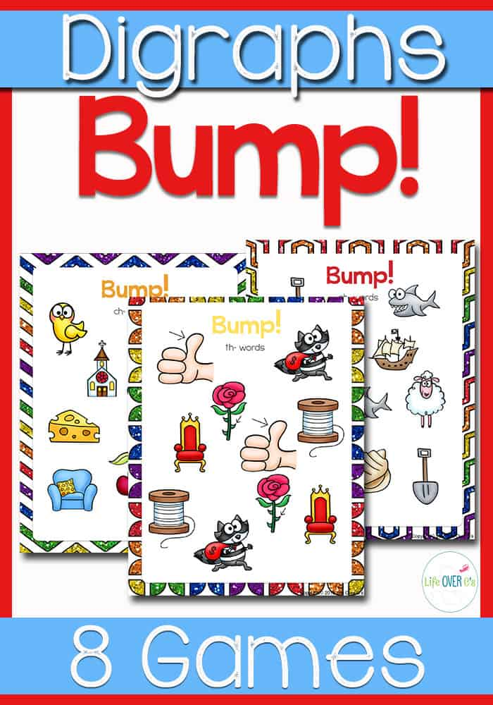 Digraph File Folder Games for Beginning Sounds
