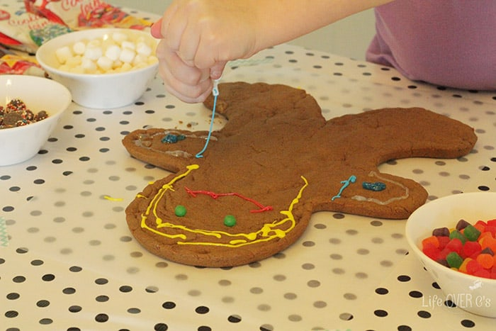 Giant Gingerbread Men Decorating Life Over Cs