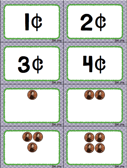 coin value cards