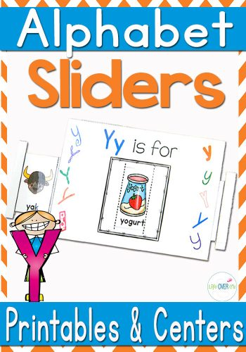 These alphabet sliders are great! Lots of different font and pictures showing words that start with each letter of the alphabet!