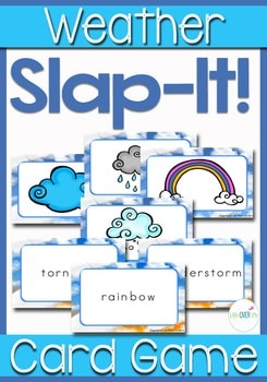 Weather Slap It! Card Game