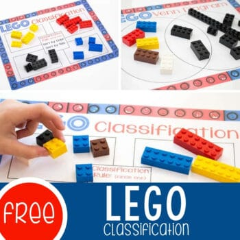 Classifying LEGO Free Printable Diagrams Featured Square Image