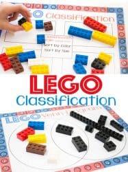 Classifying LEGO Free Printable Diagrams