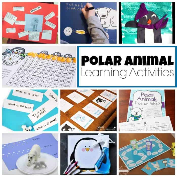 Polar Animal educational activities! So many great ideas!