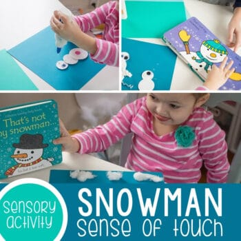 Snowman Collage Sense of Touch Featured Square Image