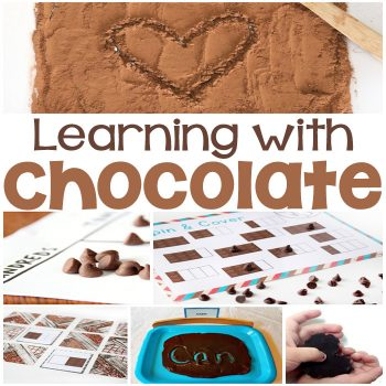 Learning with chocolate is so much fun! I love these chocolate math, reading and science activities!!