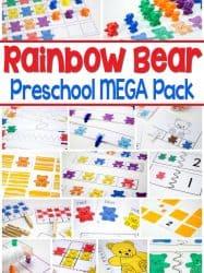 Rainbow Bear Preschool Mega Pack