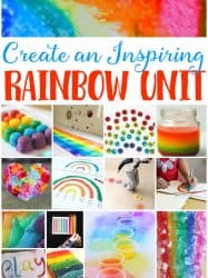 Rainbow Theme Learning Activities