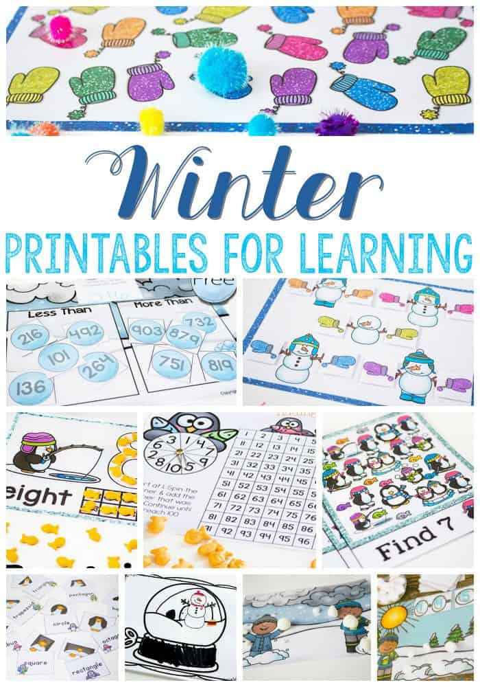 Free Printable Winter Activities