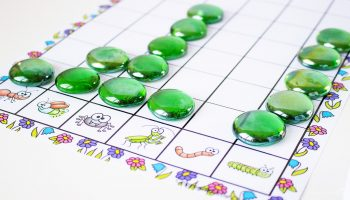 Working on an insect theme? This free printable bug graphing activity is a great addition!